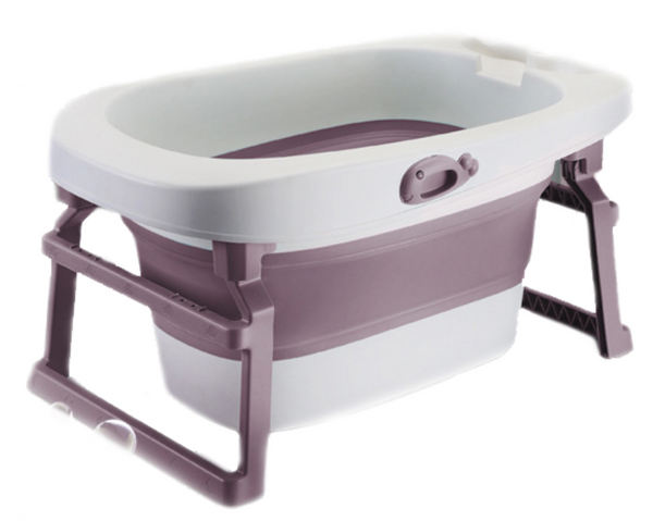 Foldable Bath Tub- Pink