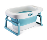 Coco Lala Foldable Bath Tub- Blue