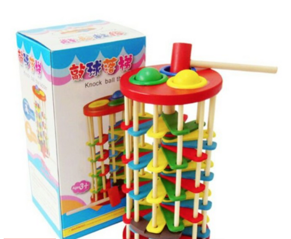 Educational Toys Knock Ball The Ladder