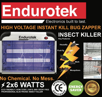 ENDUROTEK Insect Mosquito Killer (Electric Insect Killer Heavy Duty)