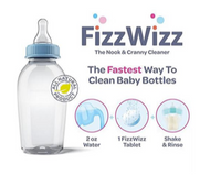 FizzWizz All-Natural Baby Bottle & Sippy Cup Cleaning Tablets 30pcs