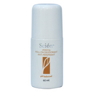 Scion Whitening Roll-on Deodorant & Antiperspirant pH Balanced 60ml