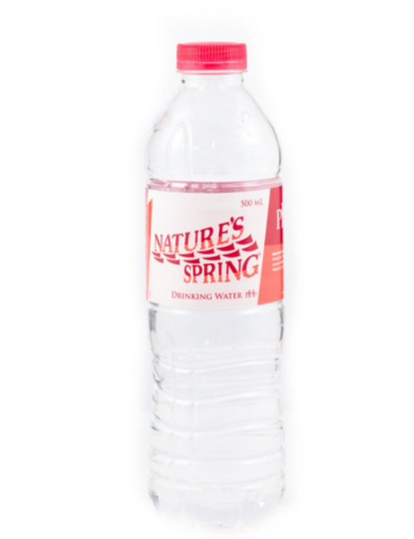 Nature Spring pH9 (alkaline water for formula milk) 500ml 24pcs