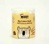 Baby Moby Big Cotton Buds (110 sticks)