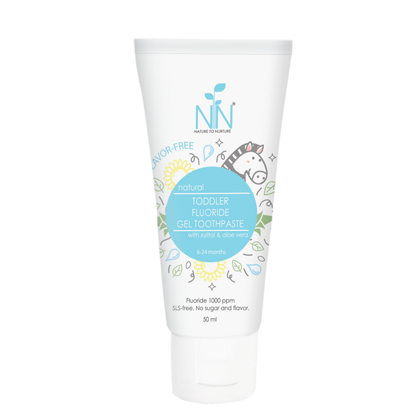 Nature to Nurture natural Toddler Fluoride Gel Toothpaste 50ml
