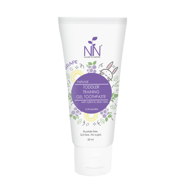 Nature to Nurture natural Toddler Training Gel Toothpaste 50ml