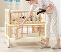 Tyler 6in1 Convertible Crib (frame only)