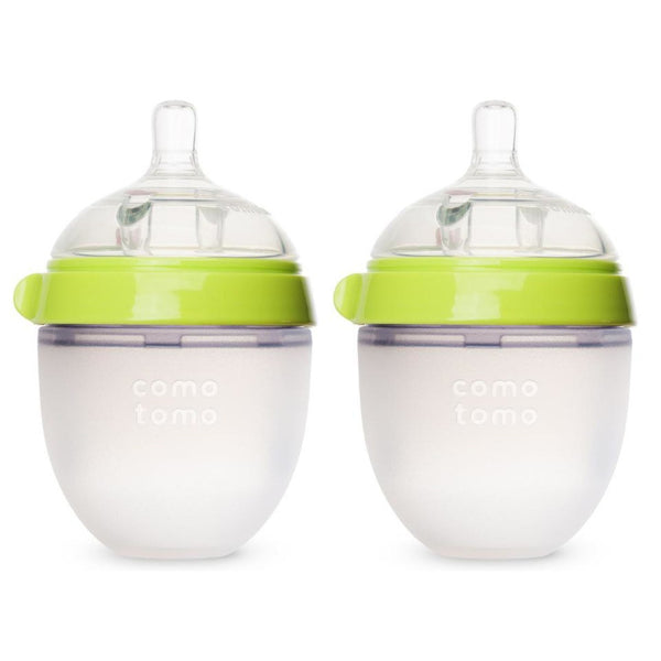 Comotomo Baby Bottles (150ml pack of 2) (Slow Flow) - 2 colors