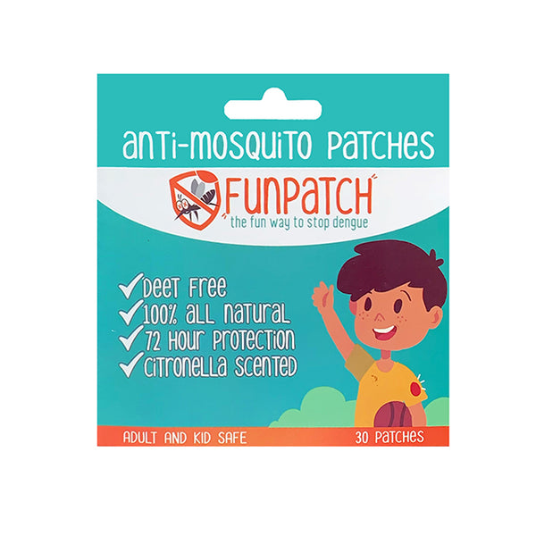 Funpatch Anti-Mosquito Patches - 30 patches per box