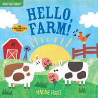 INDESTRUCTIBLES BOOK:  Hello Farm!