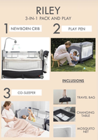 Riley 3 in 1 Convertible Pack and Play (frame only)