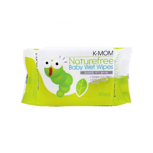K- Mom Caterpillar Basic Baby Wipes 30s