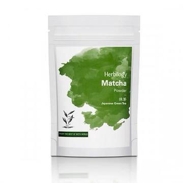 Herbilogy Matcha Powder (100g) for antioxidants