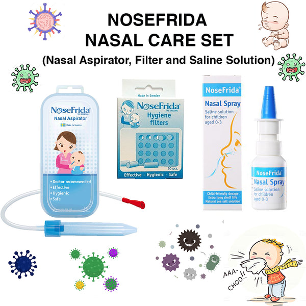 Nosefrida Nasal Care Set
