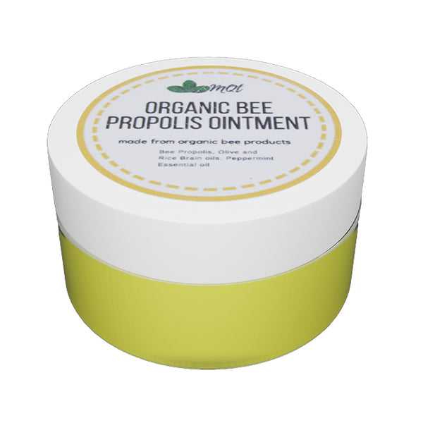 Organic Propolis Balm Small 20g - Antihistamine, Anti-Scabs and Antibacterial