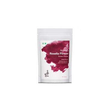 Herbilogy Rosella Flower Extract Powder 100g for immunity boost