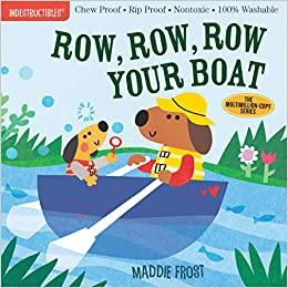 INDESTRUCTIBLES BOOK: ROW, ROW, ROW YOUR BOAT