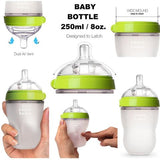 Comotomo Baby Bottle (250 ml pack of 2)- 2 colors