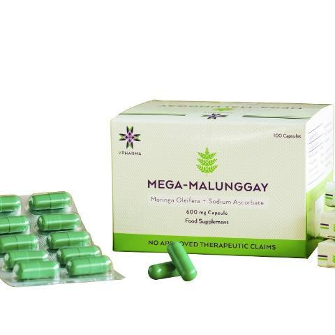 MEGA MALUNGGAY CAPSULES 600mg (100pcs/pack) for breastfeeding and boost milk production