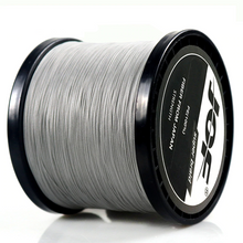 Load image into Gallery viewer, 8 Strands 500M 300M 100M Multicolor Braided Fishing Line Sea Saltwater Carp Fishing Weave Extreme