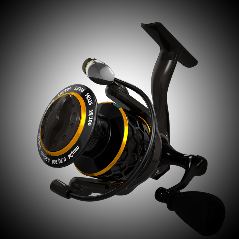 Spinning Reel 5.2:1 2000 3000 4000 Triple Disc Carbon Drag 12KG Max Drag Power Bass