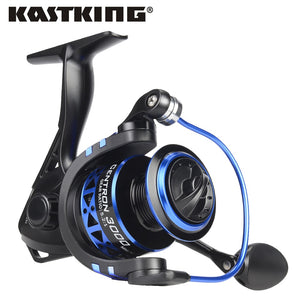 Low Profile Spinning Reel Max Drag 8KG Carp Fishing Reel for Bass Winter Fishing 500 5000 Series