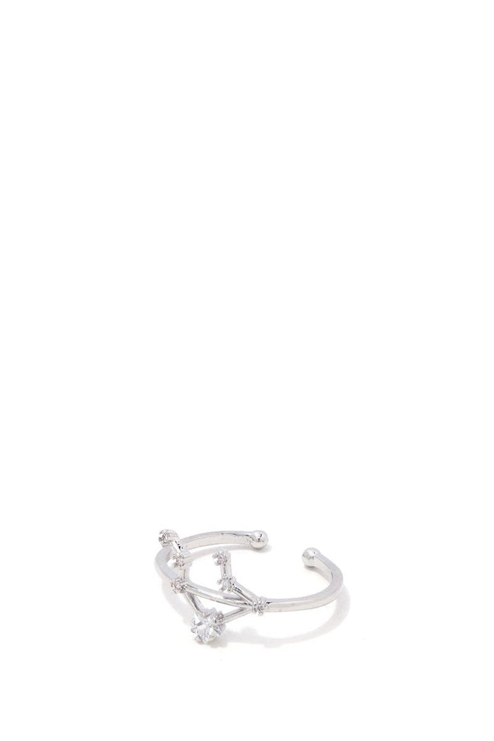 Libra Constellation Star Ring