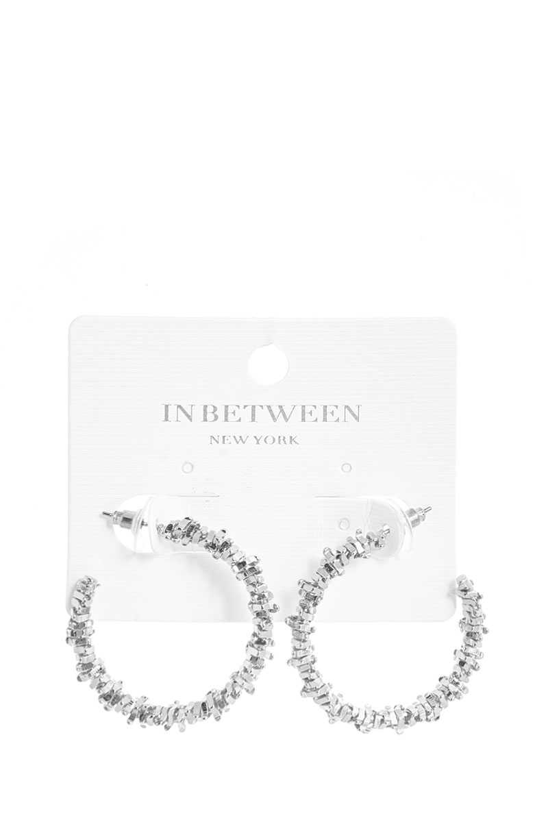 Fashion Modern 1.5 Inch Hoop Earring