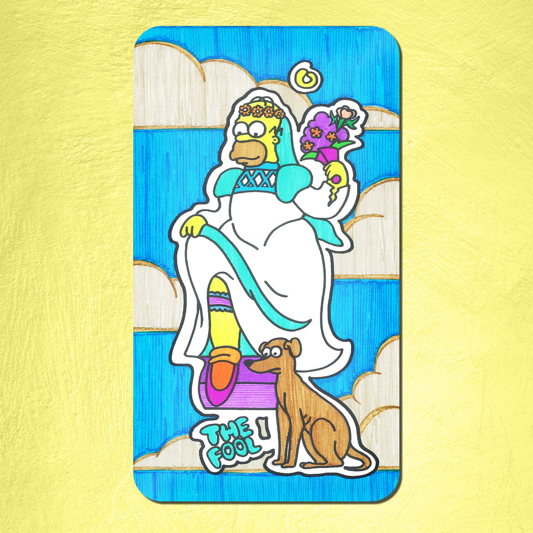 The Simpsons Tarot Deck 78 Cards Pre-Order