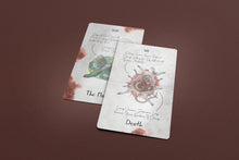 Load image into Gallery viewer, Atelier Tarot Deck with Keywords Antique Edition 78 Cards Pre-order