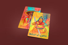 Load image into Gallery viewer, Neon Tarot Deck 78 Cards