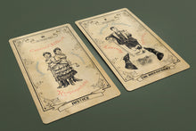 Load image into Gallery viewer, Victorian Freak Show Tarot Deck 78 Cards Pre-Order