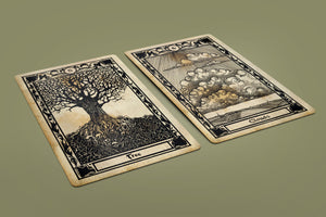 Mlle Lenormand Oracle Antique Edition Deck 36 Cards Pre-Order