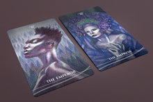 Load image into Gallery viewer, Dark Fae Tarot Deck 78 Cards Pre-Order