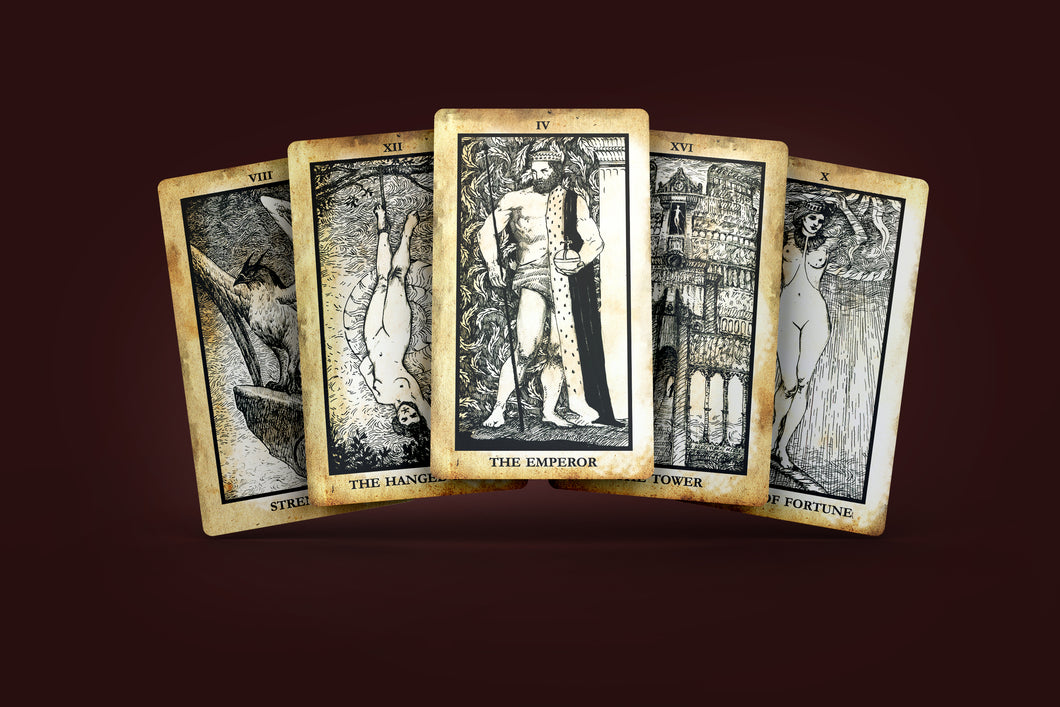 Regal Shadows Antique Edition Tarot Deck 78 Cards Pre-Order
