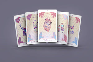 Lonely Ice Tarot Deck 78 Cards