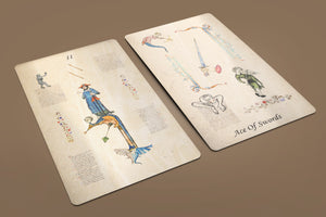 Manuscript of Initiation Tarot Deck 78 Cards