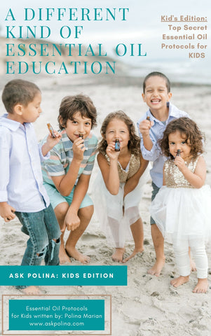 KIDS EBOOK EDITION: A different kind of Essential Oil Education