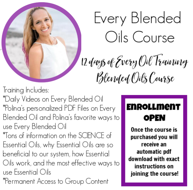 Essential Oils Course: Blended Oils