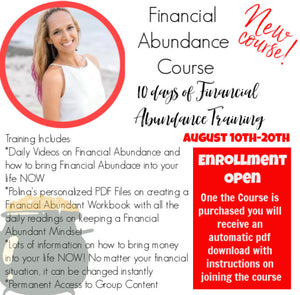 Financial Abundance 10 day Course