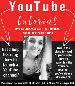 How to start a YouTub Channel ZOOM Class