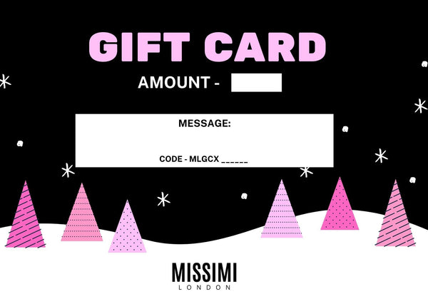 Limited Edition Christmas Missimi Gift Card