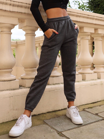 Milo Super Soft Trackies in Dark Grey