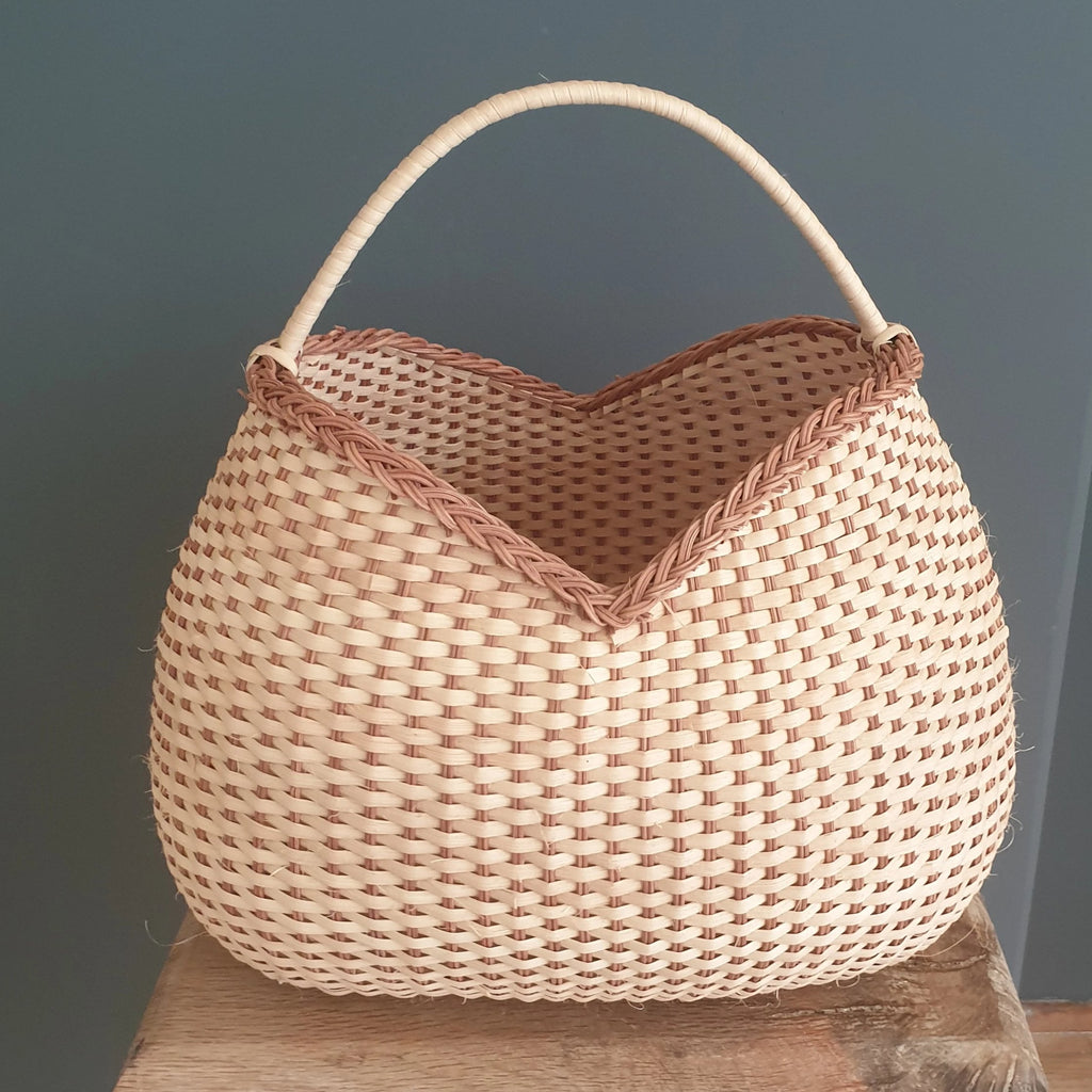 Wicker Bubble Basket