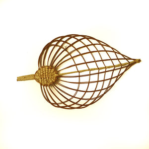 Wicker Leaf Walnut