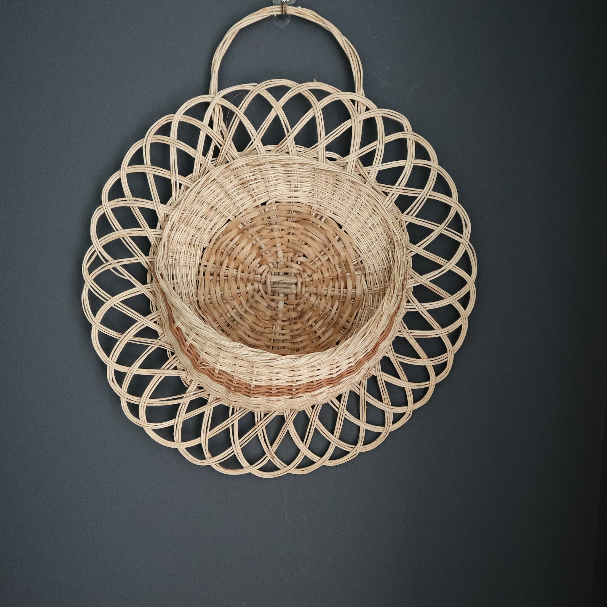 wall basket made in mexico