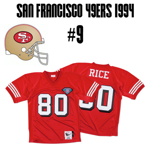 San Francisco 49ers Greatest Jersey of All Time