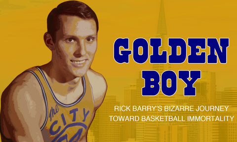 Rick Barry Golden State Legend