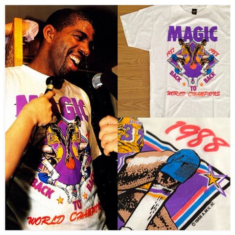 Magic Johnson Back to Back Shirt