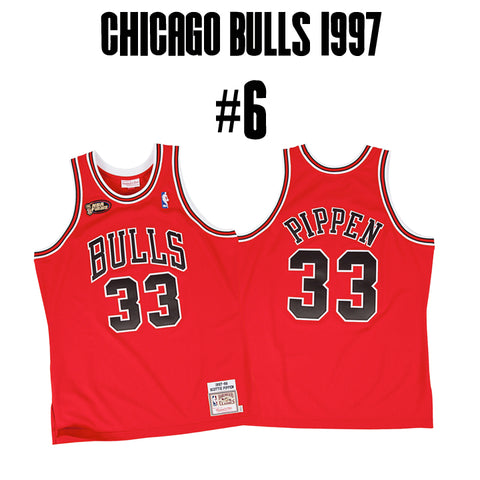 Chicago Bulls Greatest Jersey of All Time